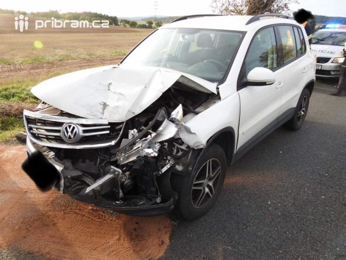 Dopravní nehoda na silnici I/4 byla ohlášena …