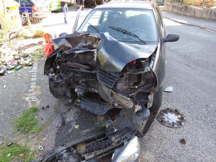 Dopravní nehoda osobního vozidla značky …