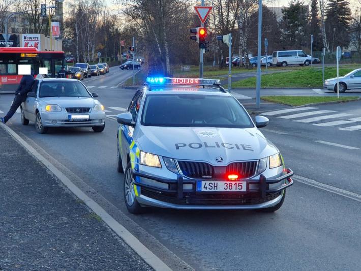 Policisté v sobotu po čtrnácté hodině šetřili …