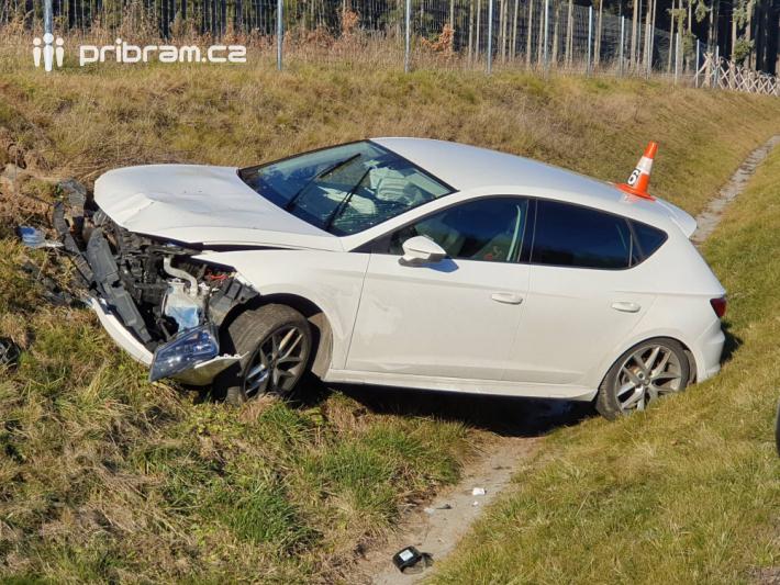 Havárie osobního vozidla značky Seat Leon …