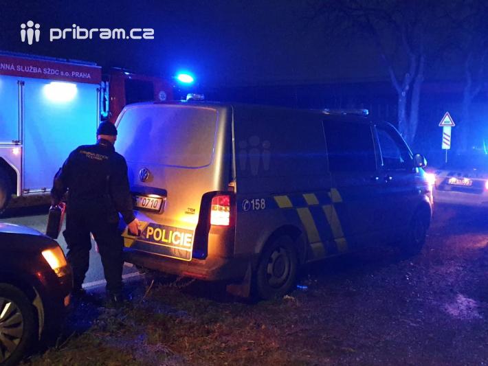 Policisté, záchranná služba a hasiči vyjížděli …