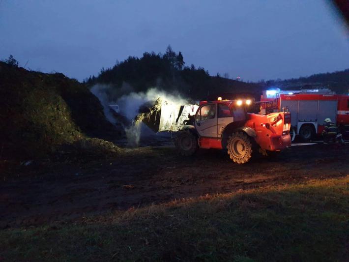 Profesionální hasiči zPříbrami, ve …