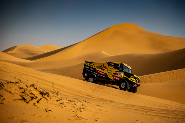 Jeden z nejtěžších závodů světa Rally Dakar …
