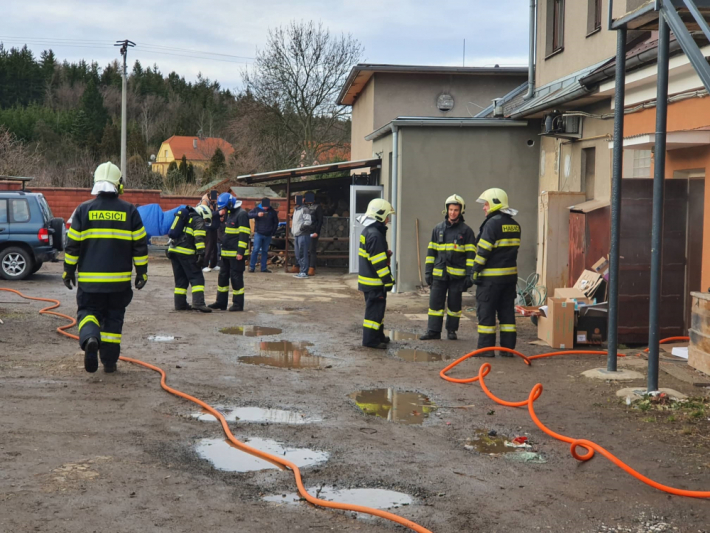 Operační důstojník hasičů přijal vsobotu …