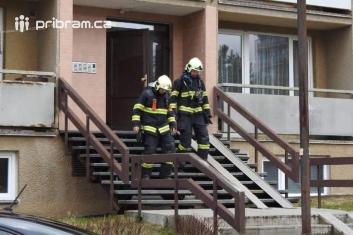 Na kouř vprostorách chodeb bytového domu …