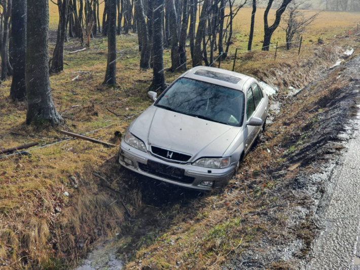 Dopravní nehodu osobního vozidla značky Honda …