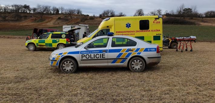 Vrtulník letecké záchranné služby vzlétl v …