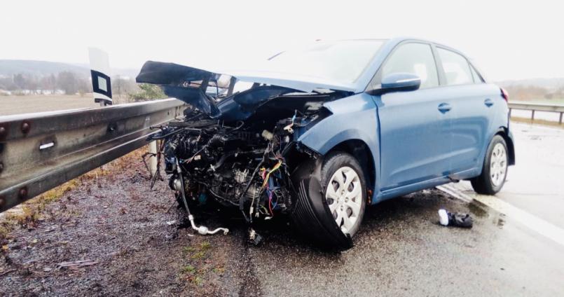 Při nehodě došlo ke zranění jedné osoby. …