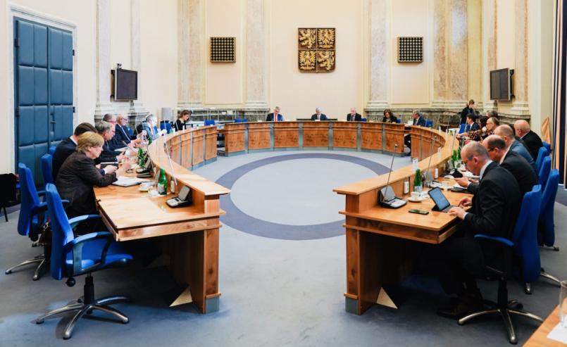 Premiér Andrej Babiš (ANO) po dnešním jednání …