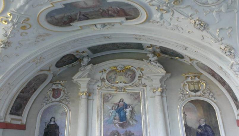 Cereghettiho dílo můžeme dodnes obdivovat na …