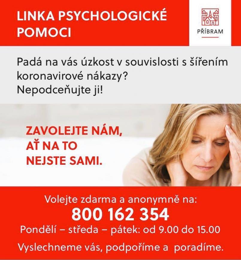 Linka psychologické pomoci bude fungovat …
