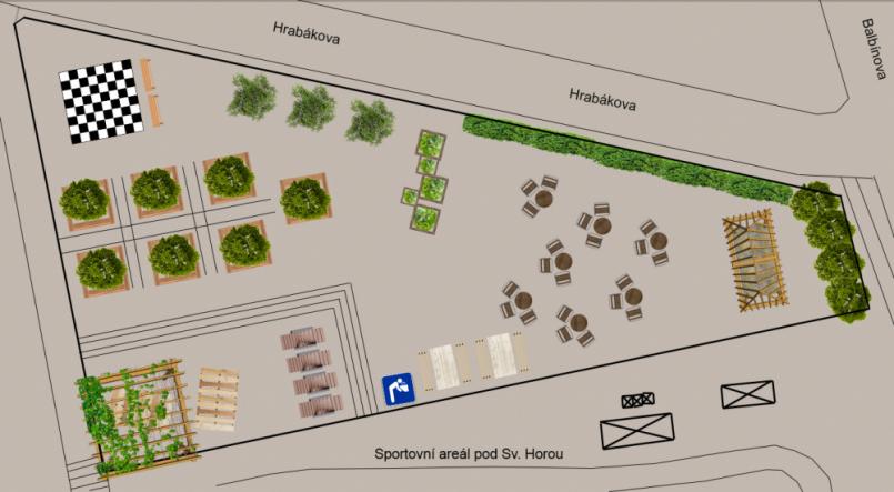 Park pod Svatou - místo pro setkávání a …