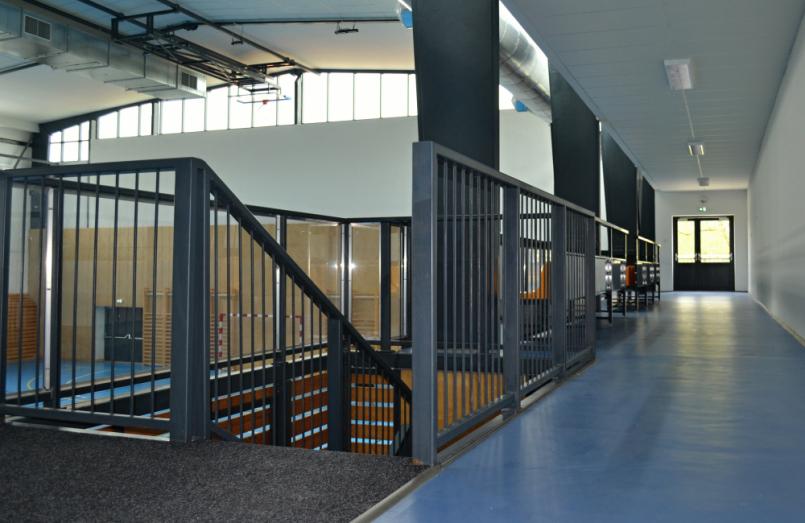 V nově zrekonstruované Sportovní hale jsme se …