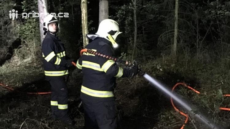 Právě teď: Výjezd příbramských hasičů si vyžádal požár trávy