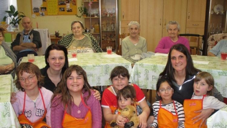 Příbramská Bedna navštívila domov seniorů Maják