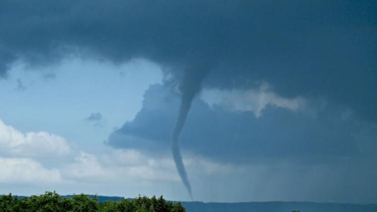 Výjimečný atmosférický jev na Příbramsku byla s největší pravděpodobností výrazná tromba