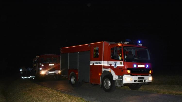 Nenahlášené pálení zaměstnávalo několik desítek minut hasiče na Rožmitálsku