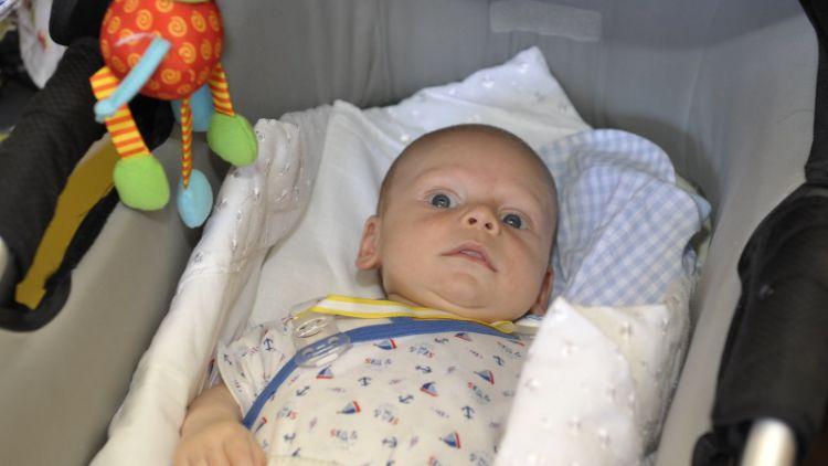 Nejhezčím květnovým miminkem se stal Antonín Kočandrle