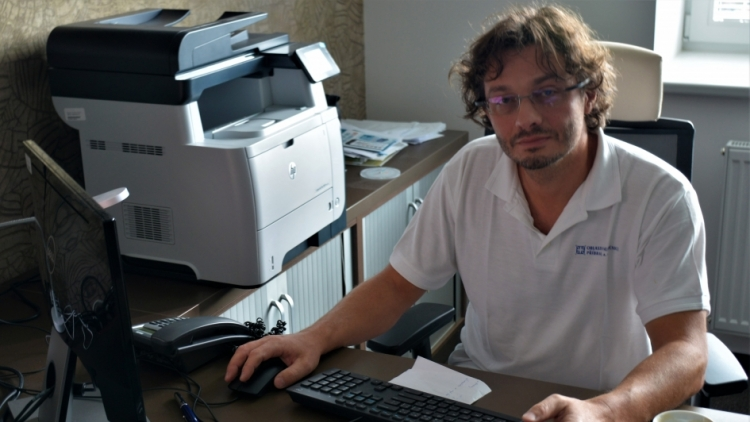 Hostem dnešního chatu je primář gynekologicko – porodnického oddělení Petr Chudáček