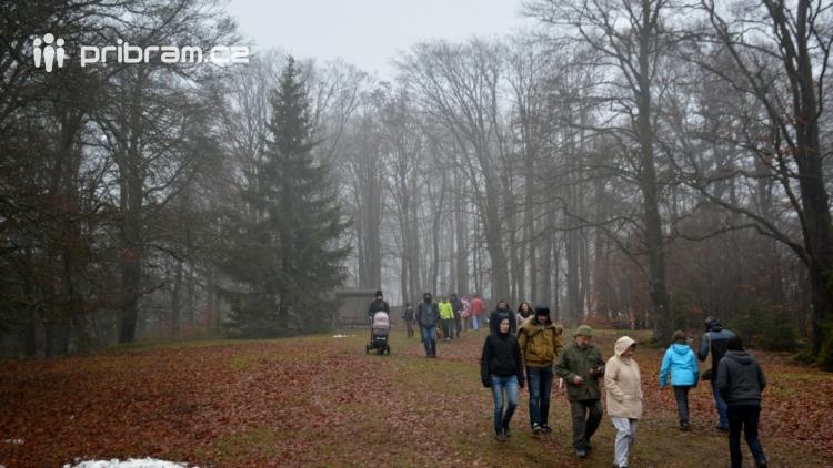 Bláto nebo sníh, na Třemšín se chodí na Nový rok vždy