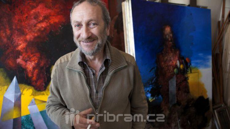 V Hranicích vystavuje příbramský malíř Bukovský, akce připomíná 20 let muzea