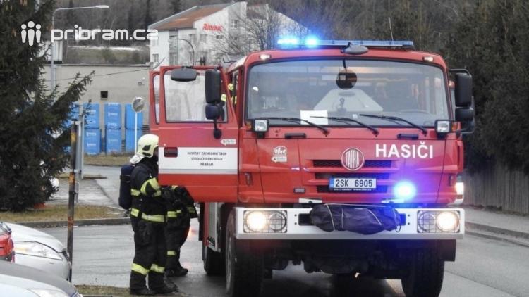 Aktuálně: K požáru elektroinstalace vyjížděly dvě jednotky hasičů