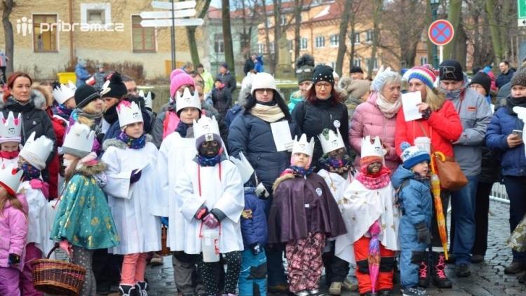Farní charita v Příbrami vybrala během Tříkrálové sbírky 135 tisíc korun