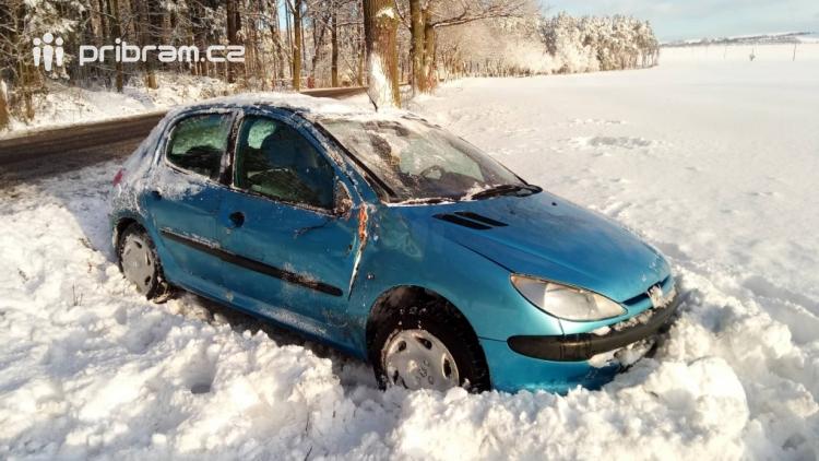 ON-LINE: Sníh komplikuje dopravu v regionu i dnes