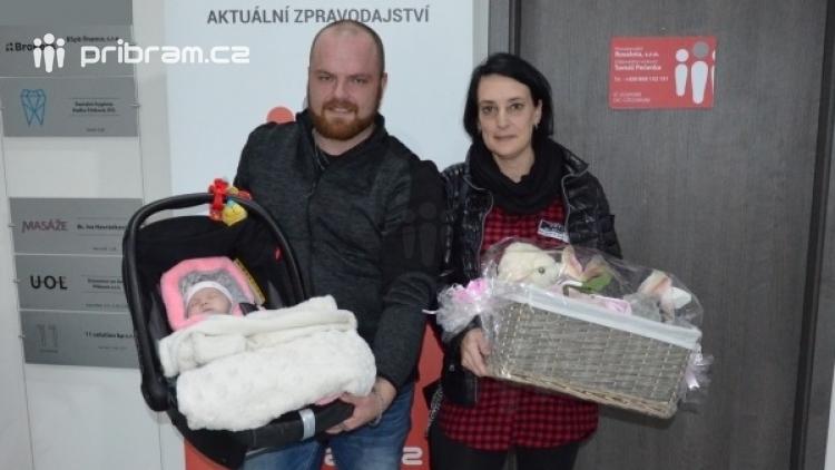 Miminko měsíce portálu pribram.cz má dalšího malého vítěze