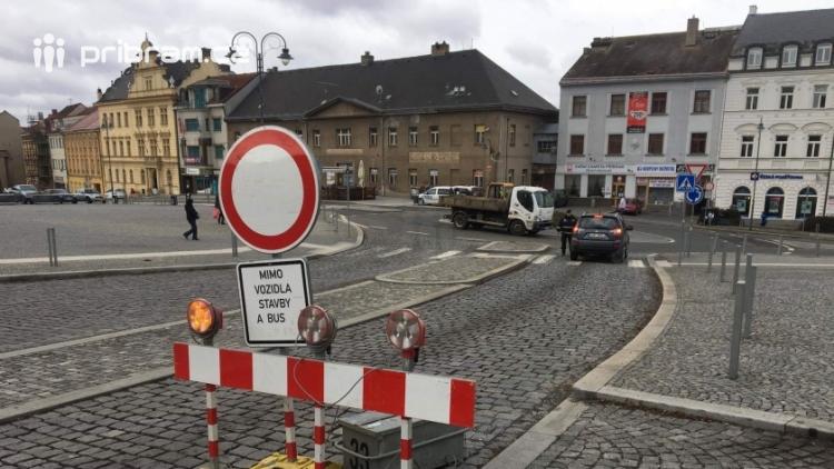 V příštím týdnu dojde k omezení autobusové dopravy  v centru Příbrami