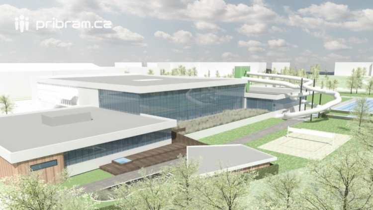 Rozpočet na nový aquapark počítá s investicí 378 000 000 korun