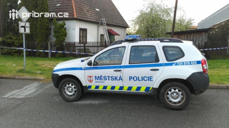 Policisté zadrželi podezřelého z vraždy v Březnici