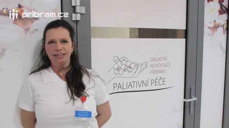 Vrchní sestra paliativního oddělení: Smrt ve vás zanechává stopy, ale našim cílem je, aby člověk mohl odejít v klidu