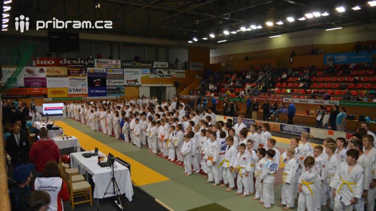 Na turnaj v judu se do Příbrami sjelo 215 závodníků