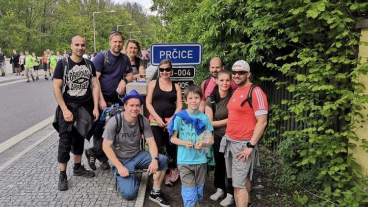 Na pochod Praha - Prčice se vydalo přes 26.000 turistů