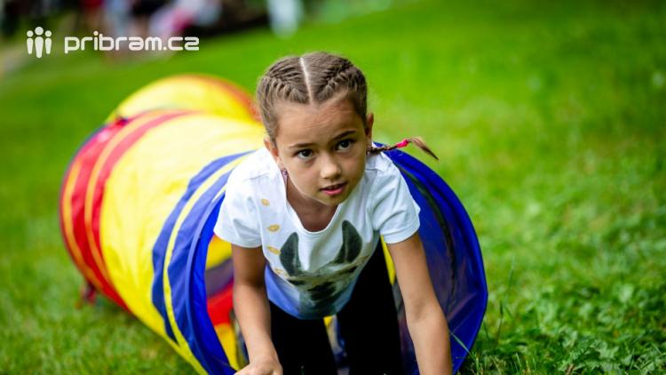 Novák Fest - děti se hýbaly, tvořily a zkoušely