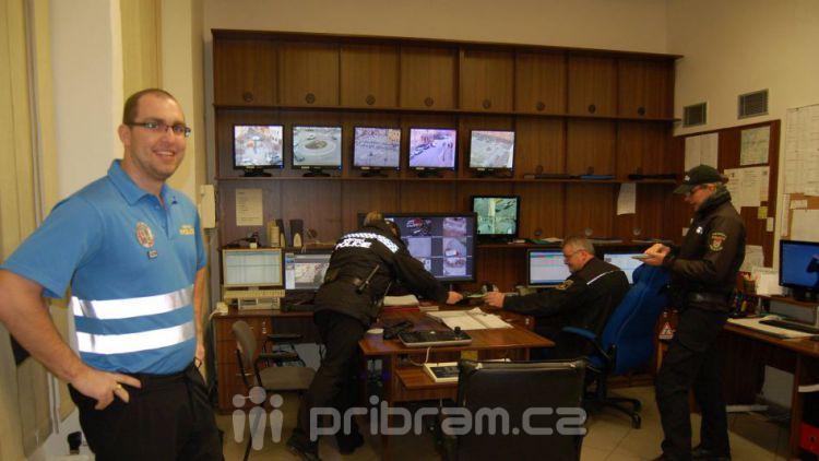 Starosta kontroloval práci městské policie, ta potřebuje modernizovat kamery