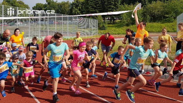 V Olympijském běhu v Příbrami byl každý vítězem