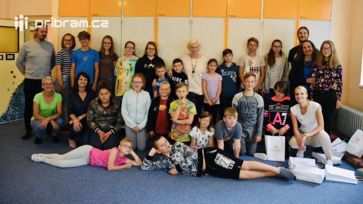 Děti si příměstský tábor užívaly