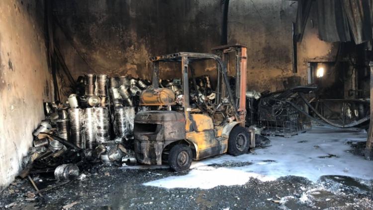Požár výrobní haly společnosti Ravak prověřil vodovodní síť