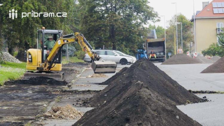 Do konce měsíce bude uzavřena ulice Legionářů
