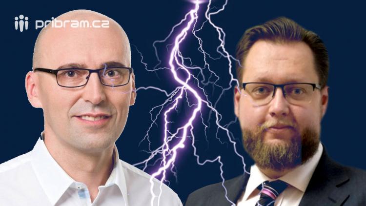 Mezi starostou Konvalinkou a zastupitelem Švendou to zajiskřilo na sociálních sítích