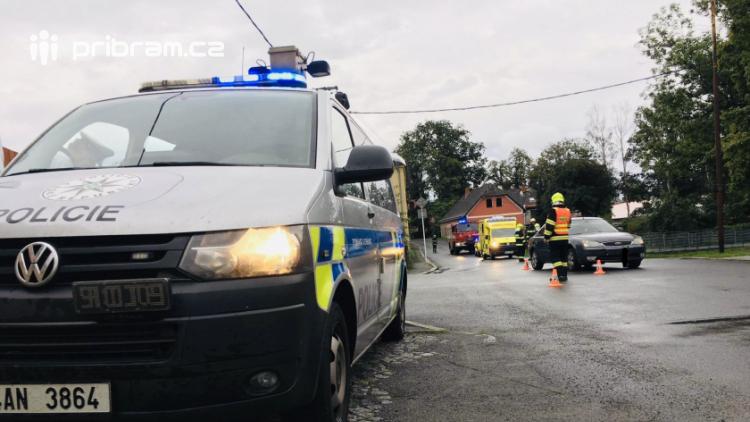 V Rožmitále srazilo auto dítě na kole, to skončilo v nemocnici