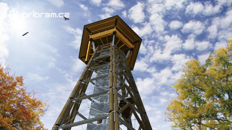 Rozhledna na Třemšíně byla oceněna v soutěži Dřevěná stavba roku 2019. Na stavbu však nejsou finance