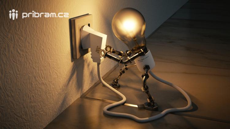 Některé domácnosti v Příbrami jsou bez elektřiny
