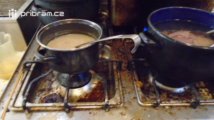 Mastnota, špína a zbytky potravin. Hygienici si oběd raději nedali