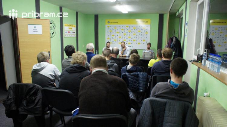 Ve čtvrtek proběhne setkání fanoušků se zástupci 1.FK Příbram