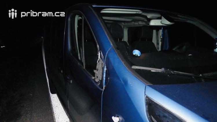 Řidič Opelu srazil namol opilého chodce