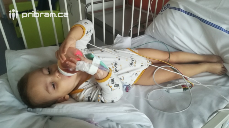 Příbramští záchranáři vyjeli na pomoc malému Kryštůfkovi, zachránili mu život
