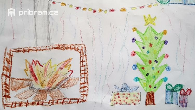 """Výtvarná soutěž pro děti """"Vánoce vČechách a Ledru"""""""